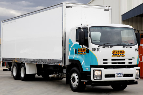 Dyers Logistics Rigid truck