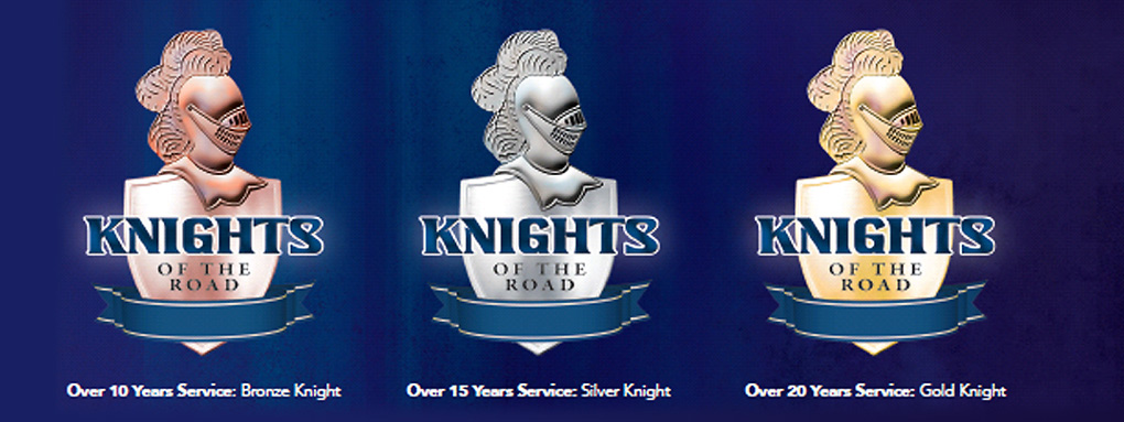 Dyers Logistics Knights of the Road symbols