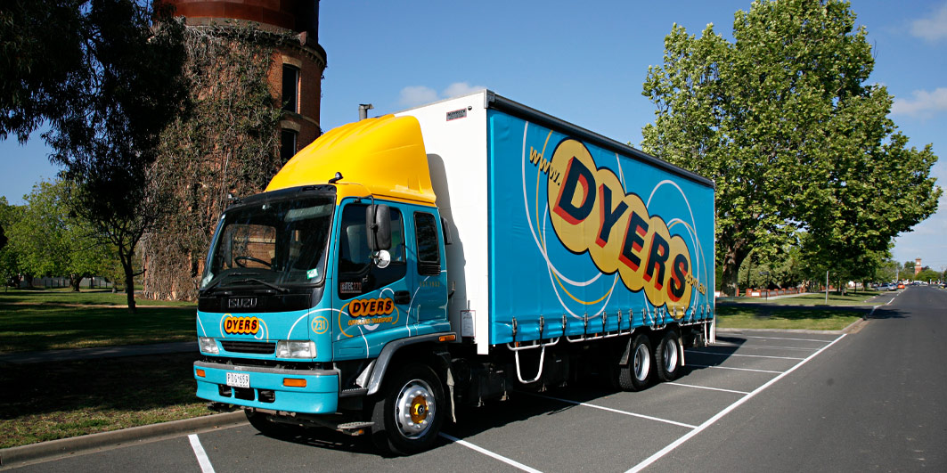 Dyers Logistics general freight truck