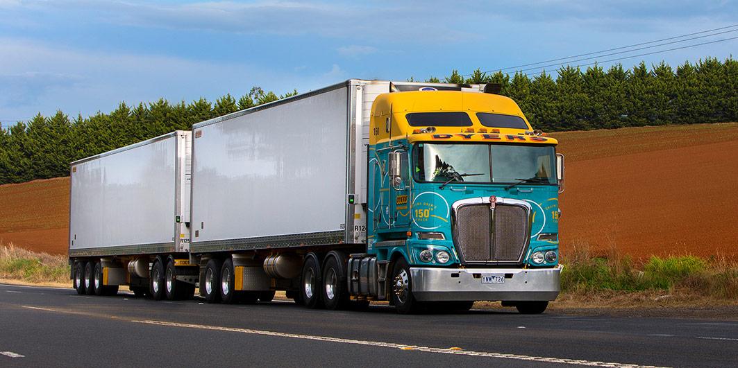 Dyers Logistics Linehaul truck